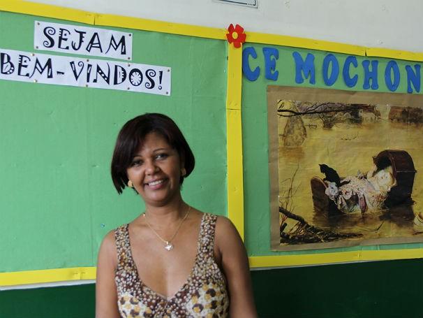 Ana Paula Freitas Rodrigues, diretora da Escola Estadual Monsenhor Miguel de Santa Maria Mochón (Foto: Divulgação/Alessandra de Paula)