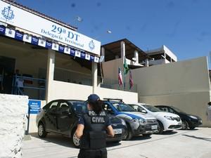 Delegacia de Plataforma foi inaugurada nesta terça-feira (2) (Foto: Polícia Civil/Divulgação)