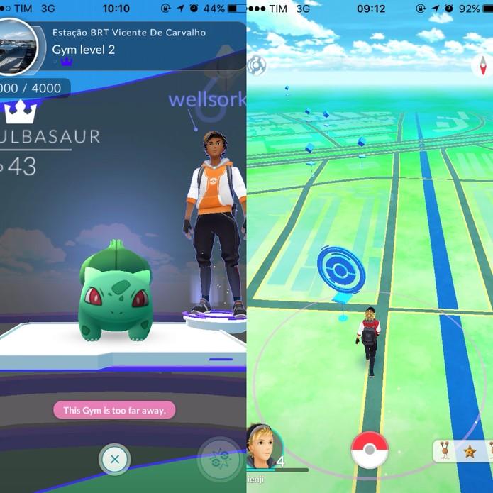 Pokémon Go pode não ser compatível com seu smartphone (Foto: Reprodução/Felipe Vinha)