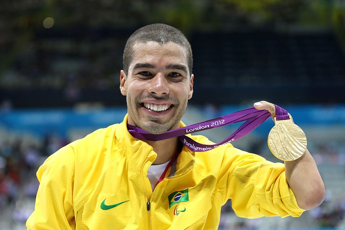 Daniel Dias tema chance de figurar no Top 10 (Foto: Clive Rose/Getty Images)