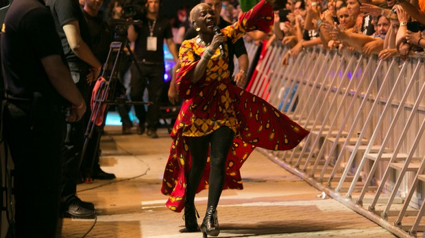26/09 - SUNSET - Angelique Kidjo + Richard Bona (Foto: Fabiano Leone)