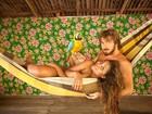 Gaby Amarantos rasga elogios ao namorado e assume: 'Me achando'