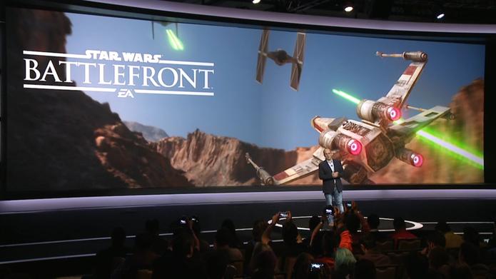 Conferência Latina da Sony na E3 2015 (Foto: Reprodução / TechTudo)
