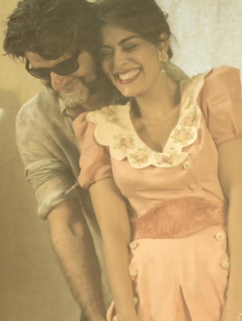 Juliana Paes e Luiz Fernando Carvalho (Foto: Arquivo pessoal)