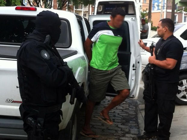 Operação policial é realizada no RN nesta sexta-feira (24) (Foto: Igor Jácome/G1)