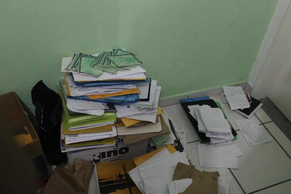 Documentos podem indicar nomes para novos pedidos de prisão. (Foto: Júnior Feitosa/G1 P1)