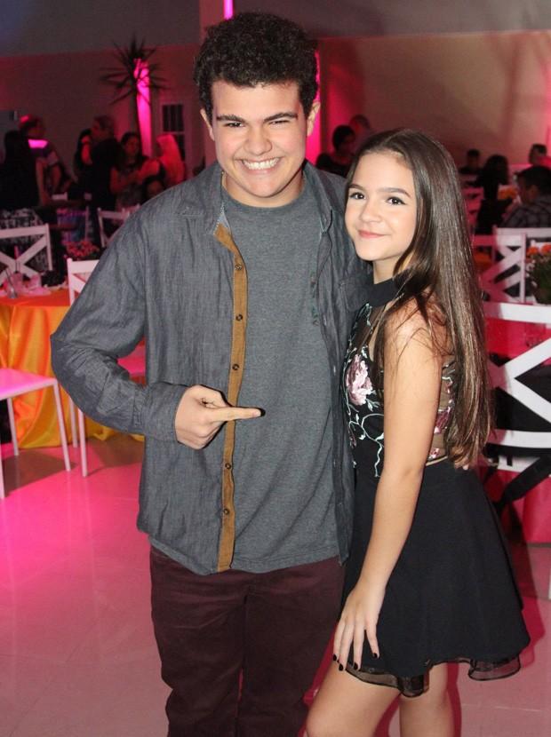 Mel Maia e Gabriel Montenegro (Foto: AGnews)