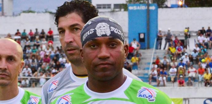Atacante Viola em jogo festivo disputado em Taubaté (SP) (Foto: Danilo Sardinha/GloboEsporte.com)