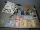 Durante patrulhamento, PM apreende 1,2 kg de maconha em Urucuia
