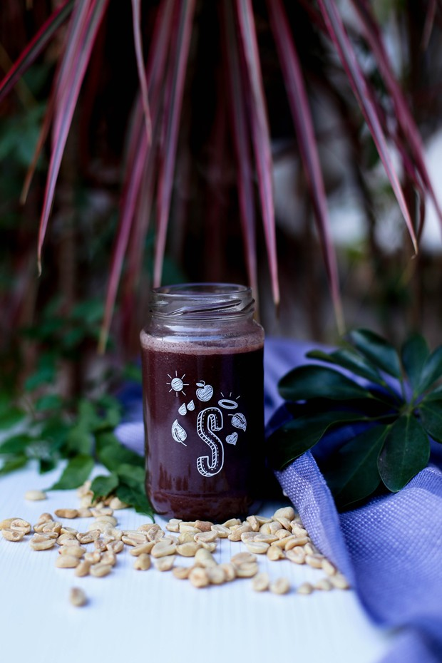Shake de primavera: vitamina de Juçaí (Foto: Simplesmente)