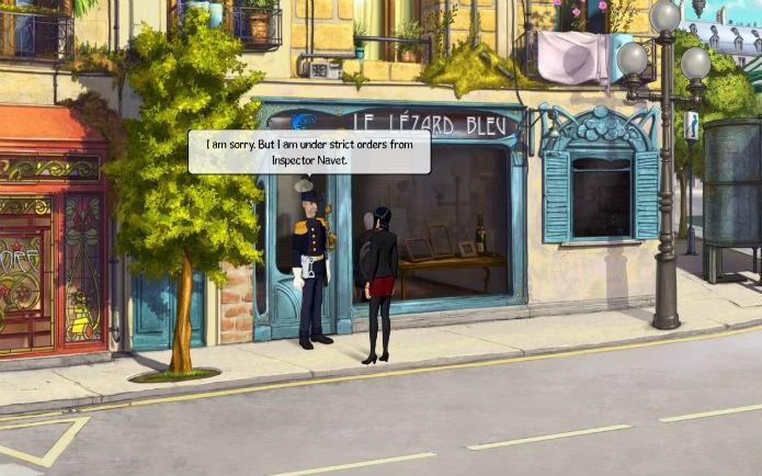 Broken Sword 5 romance policial (Foto:Reprodução/Lílian Moreira)