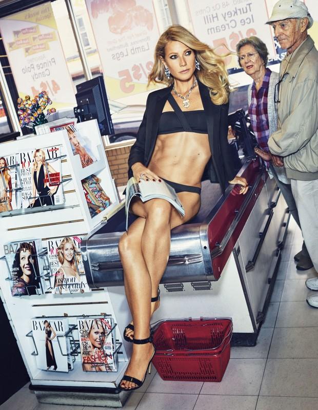 Gwyneth Paltrow (Foto: Reprodução/ Bazaar)
