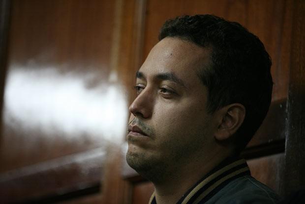 O diplomata venezuelana Dwight Sagaray comparece a tribunal em Nairóbi, no Quênia, nesta segunda-feira (30) (Foto: AFP)