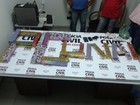 PC de Unaí prende quatro homens e apreende cerca de 30kg de maconha