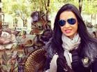 Bem arrumada, Gracyanne Barbosa posa em pontos turísticos de Paris
