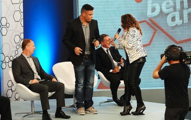 Ronaldo dançando Daniela Mercury 10 anos Bem amigos (Foto: Marcos Ribolli)