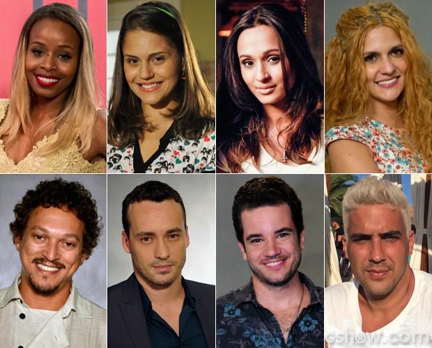 Os participantes do Super Chef Celebridades 2014 (Foto: Mais Você/TV Globo)