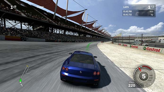 Forza 3 era muito melhor que os antecessores (Foto: Reprodução)
