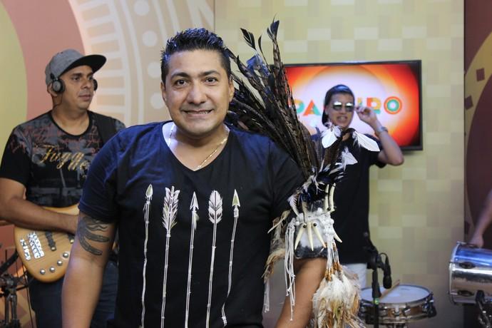 Carlinhos do Boi tem mais de 20 anos de carreira (Foto: Katiúscia Monteiro/ Rede Amazônica)