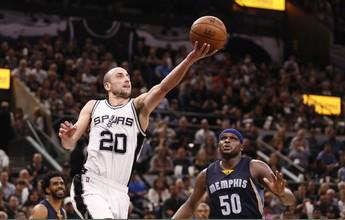 Ginóbili renasce, Spurs vencem e ficam a apenas uma vitória de fechar a série