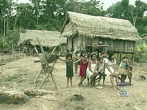 Manchineris no Acre (Foto: Reprodução/TV Acre)
