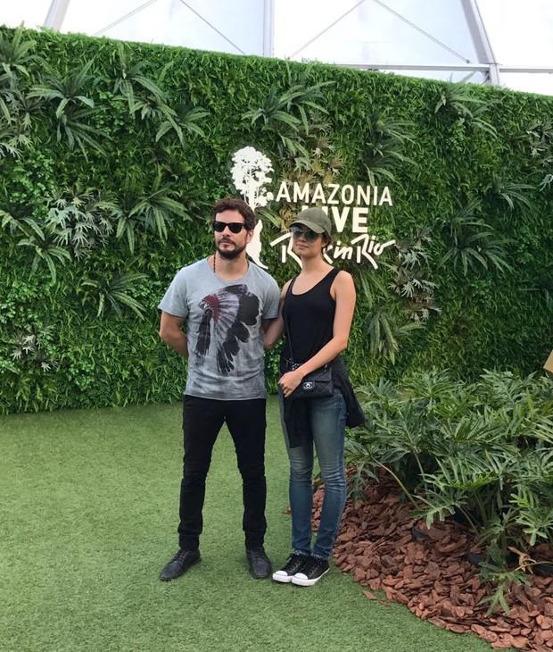 Daniel de Oliveira e Sophie Charlotte (Foto: QUEM)