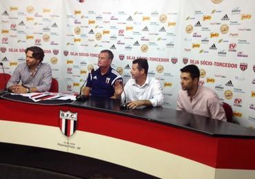 Mazola Junior, novo técnico do Botafogo-SP (Foto: Cleber Akamine)