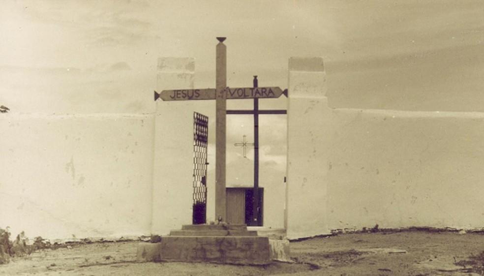 Antigo cemitério de Senador Pompeu (Foto: Divulgação)