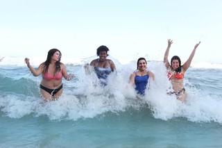Fabiana Karla, Cacau Protásio, Simone Gutierrez e Mariana Xavier (Foto: Janderson Pires / Divulgação)