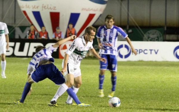 Coritiba Nacional empate Chico  (Foto: Divulgação/site oficial do Coritiba Foot Ball Club)