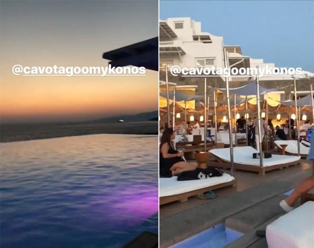 Simaria de férias na Grécia (Foto: Reprodução/Instagram)