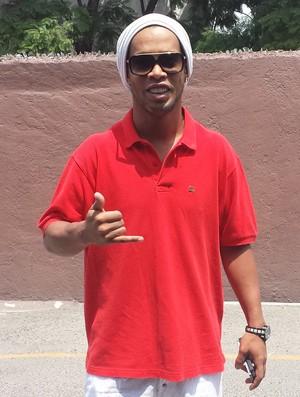 Ronaldinho Gaúcho  (Foto: Felipe Schimit)