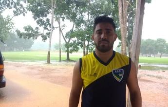RSC anuncia que atacante Marco Aurélio não pertence mais ao time