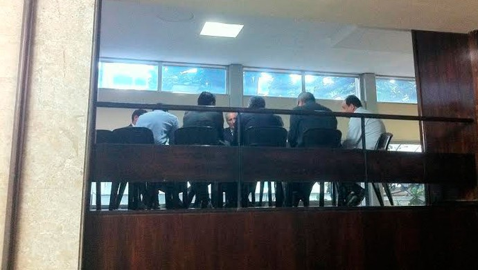 reunião governo rs estruturas temporárias copa beira-rio luigi inter (Foto: Felipe Truda/GloboEsporte.com)
