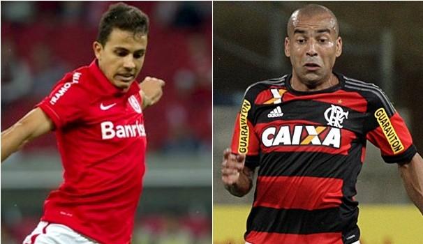 Internacional e Flamengo se enfrentam pela 12ª rodada do Brasileirão (Foto: Divulgação)