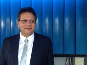 Marcello Diniz Cordeiro, superintendente da PF em Pernambuco (Foto: Bruno Marinho/G1)