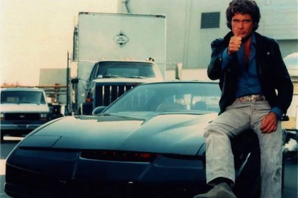 David Hasselhoff em cena de 'A Super Máquina' (Foto: Reprodução)