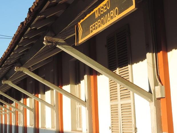 Museu Ferroviário relembra a história marcante da Noroeste Brasil (Foto: Alan Schneider/G1)
