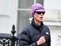 Nicole Kidman corre 'disfarçada' nas ruas de Londres