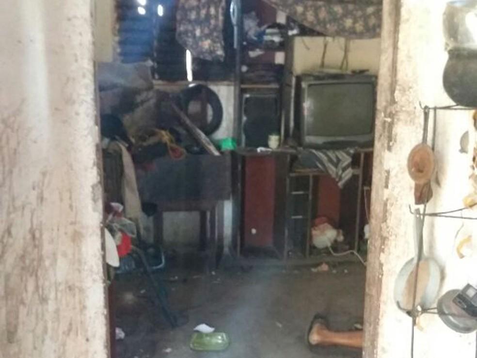 Homicídio ocorreu dentro da residência do casal, em Castelo do Piauí (Foto: Divulgação/Polícia Civil)