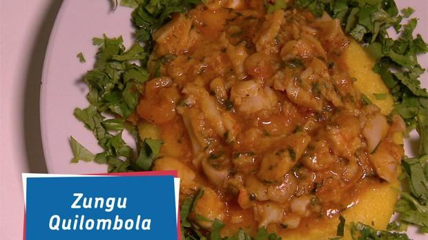 Zungu Quilombola da Famlia Conceio, do 'Que Marravilha! Revanche' (Foto: Reproduo GNT)