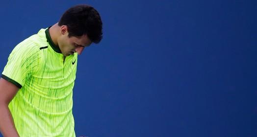 bola fora (AFP)