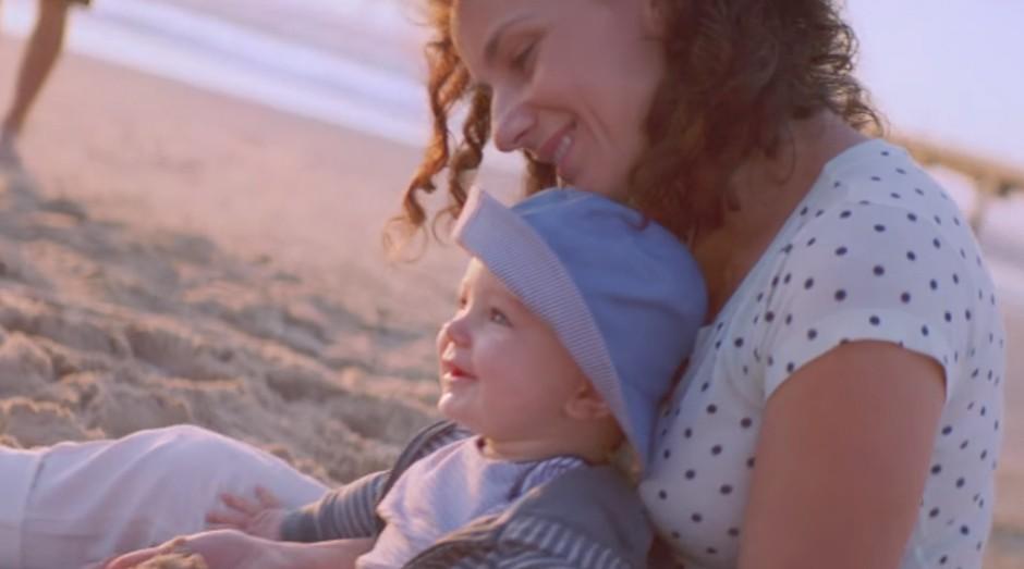 Bebê Johnson's: campanha fez sucesso no Brasil (Foto: Reprodução)