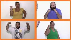 Quatro participantes vão encarar treinos e dieta para chegar a boa forma (Foto: TV Sergipe)