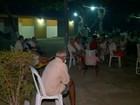 Mais de 50 idosos são levados para pátio de abrigo após incêndio no Piauí