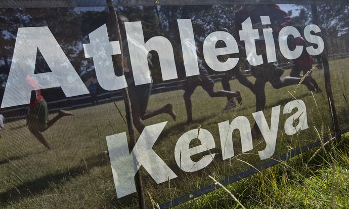 atletismo, Quênia (Foto: AP)