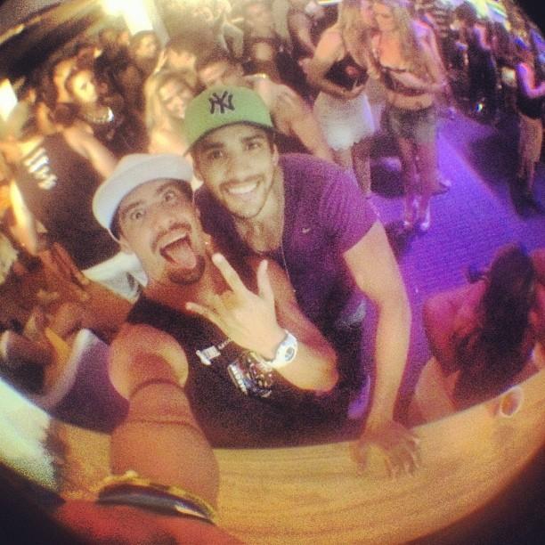 Yuri e Gusttavo Lima (Foto: Instagram / Reprodução)