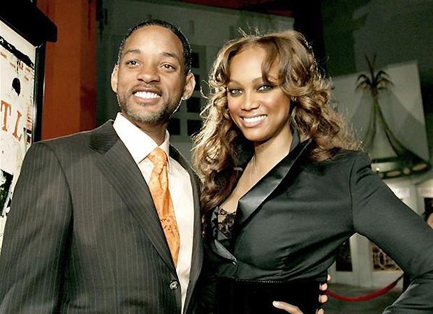Tyra Banks e Will Smith (Foto: Reprodução)