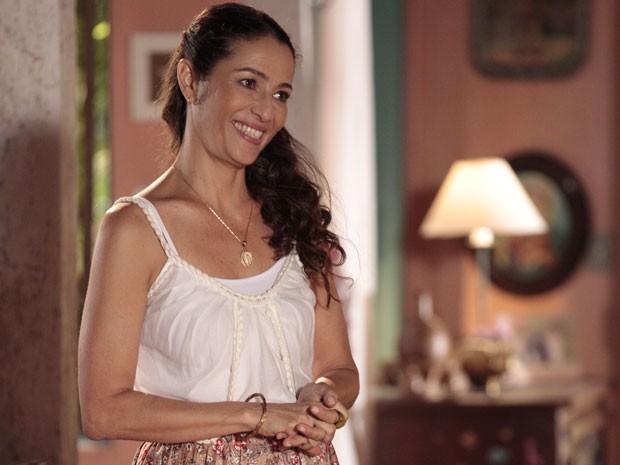 Cyria Coentro será Bibiana (Foto: Flor do Caribe / TV Globo)