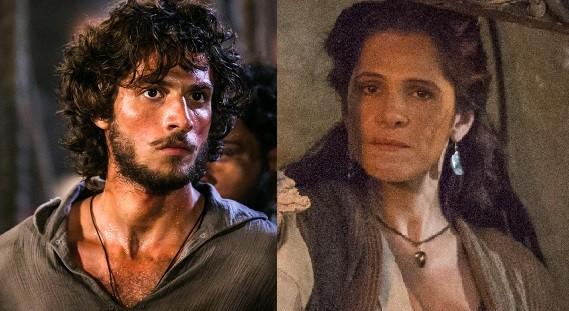 Chay Suede e Ingrid Guimarães serão marido e mulher no início de Novo Mundo, a próxima novela das 6 (Foto: Reprodução/ TV Globo)